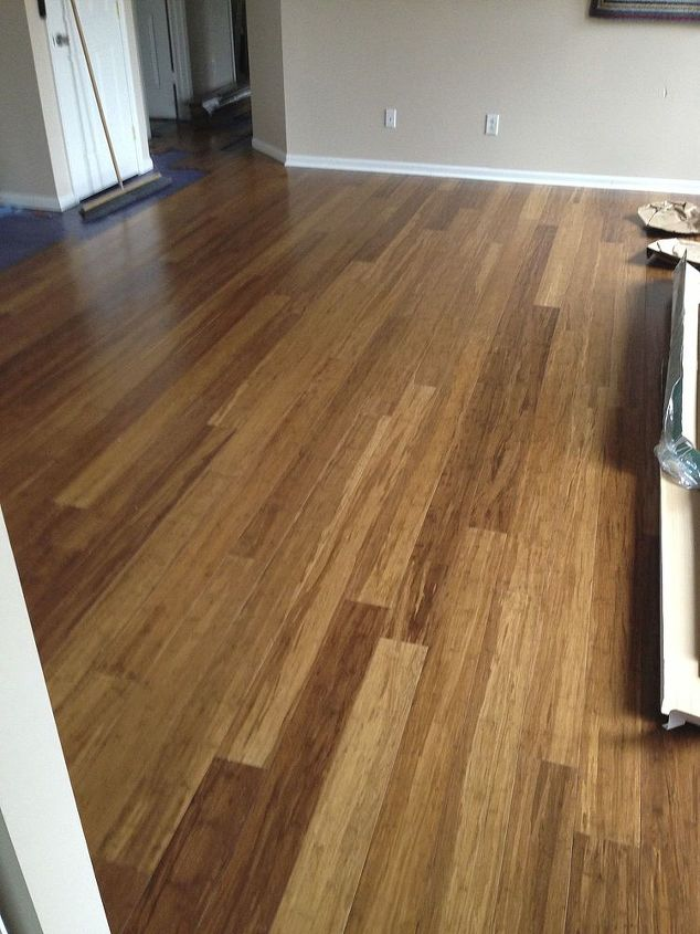q tile recommendations for foyer to match a strand bamboo floor, flooring, foyer, tile flooring