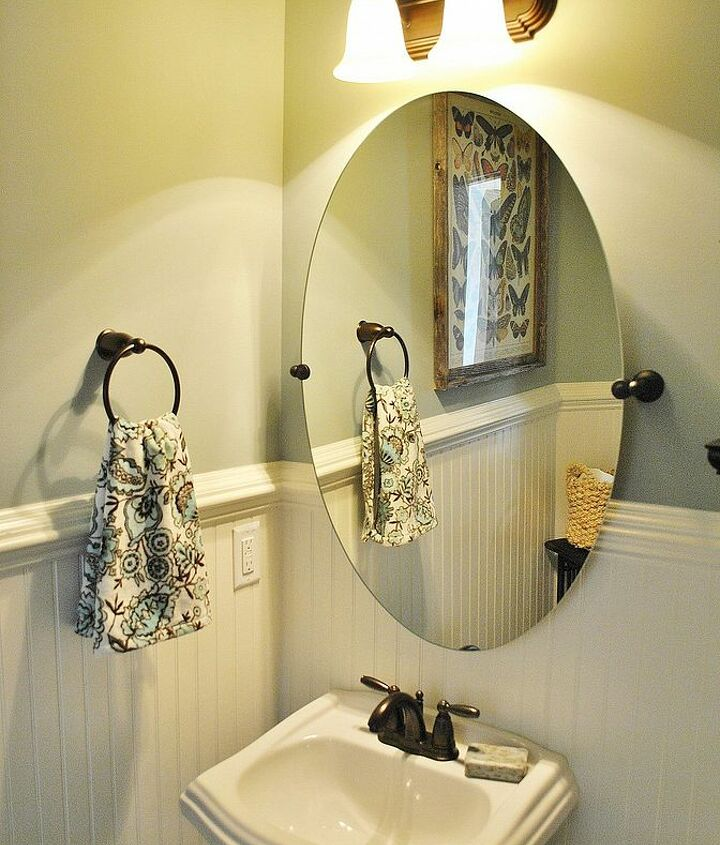 powder room makeover, bathroom ideas, home decor