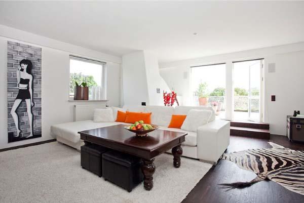 penthouse apartment in malmo sweden, decks, home decor, outdoor living