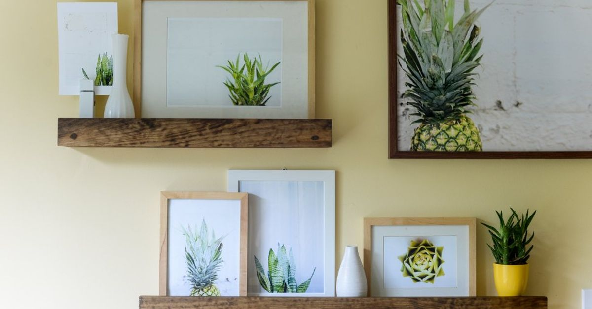 Create A West Elm Worthy Picture Ledge Wall You Can Be Proud Of