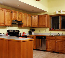 5 top wall colors for kitchens with oak cabinets hometalk rh hometalk com Kitchen Color Ideas with Oak Cabinets Oak Kitchen Cabinets with Granite Countertops