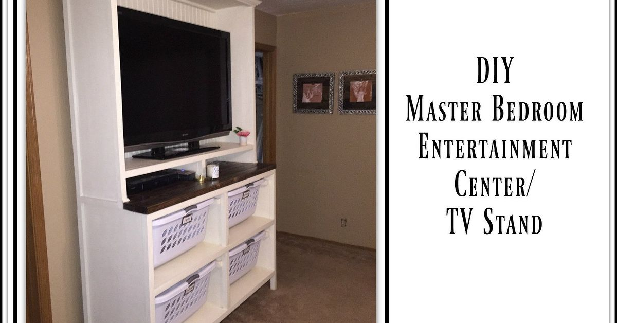 Build A Dual Purpose Entertainment Center Tv Stand Hometalk