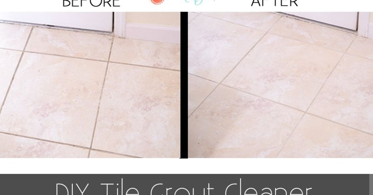 Mix Up Your Own Natural Tile Grout Cleaner Hometalk