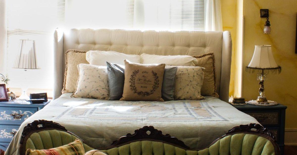 Diy Diamond Tufted Upholstered Headboard Hometalk