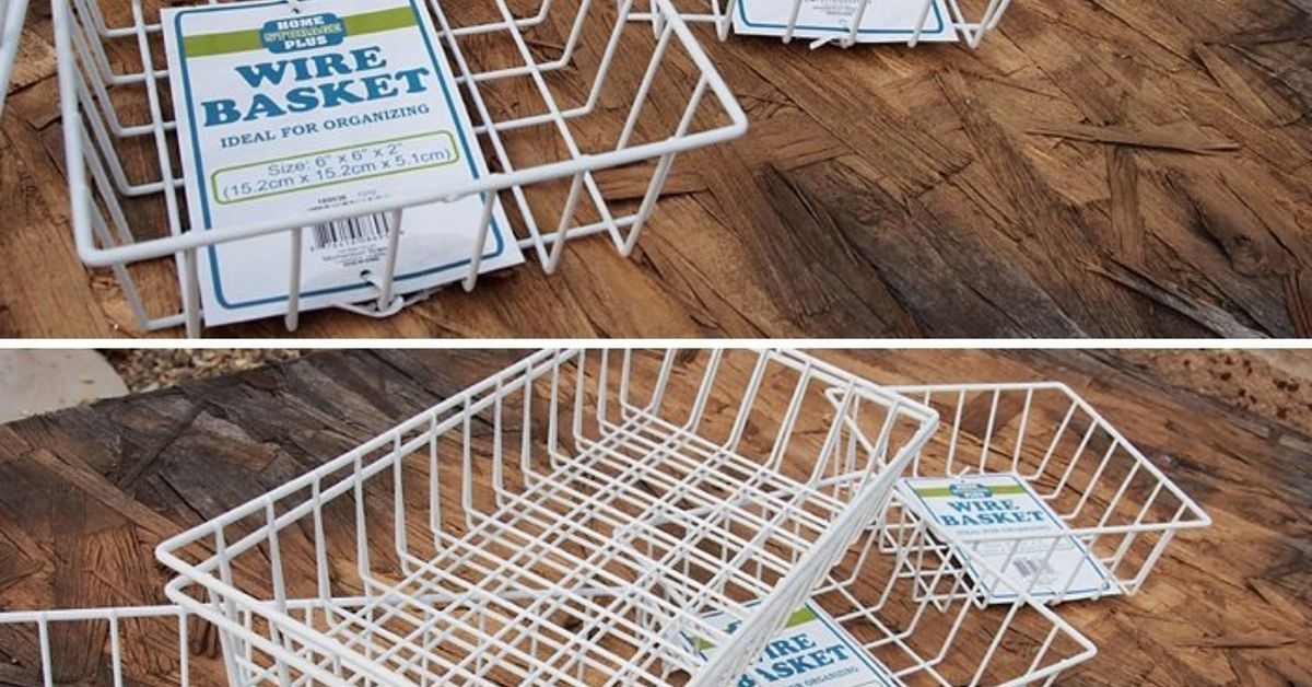 ideas for using industrial wire basket in the home hometalk