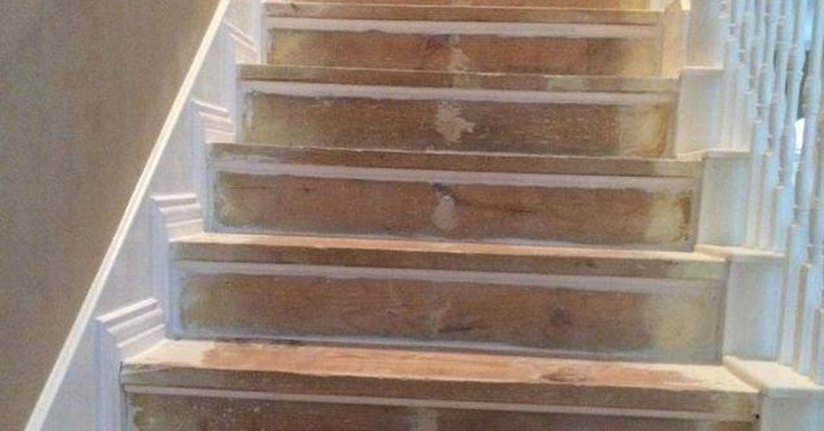 Diy Nasty Carpeted Stairs Removal Hometalk