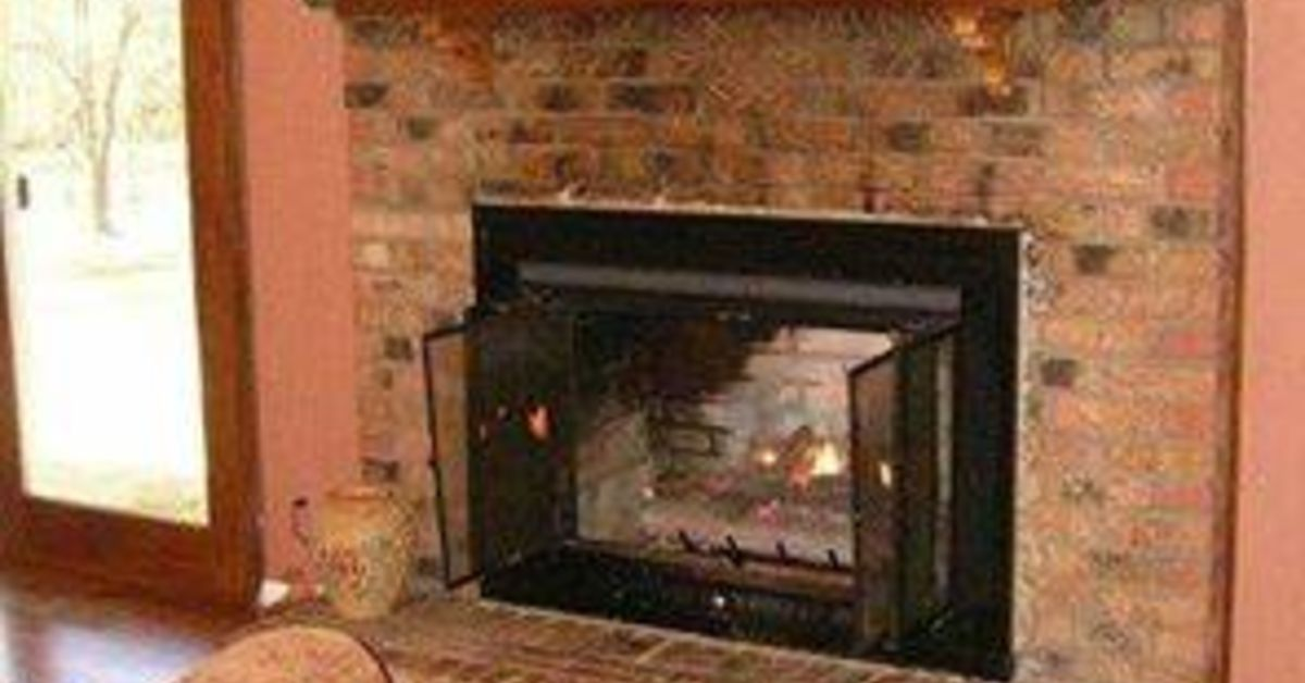 Painted Brick Fireplace Farmhouse Inspiration Hometalk