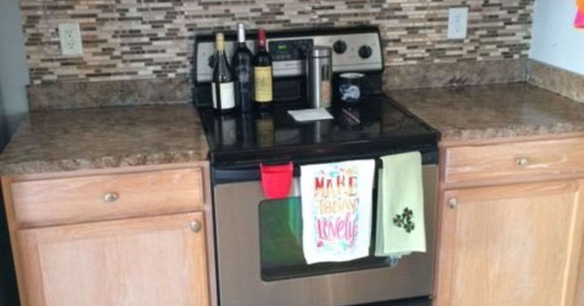 Totally Transform Old Laminate Countertops To Look Like