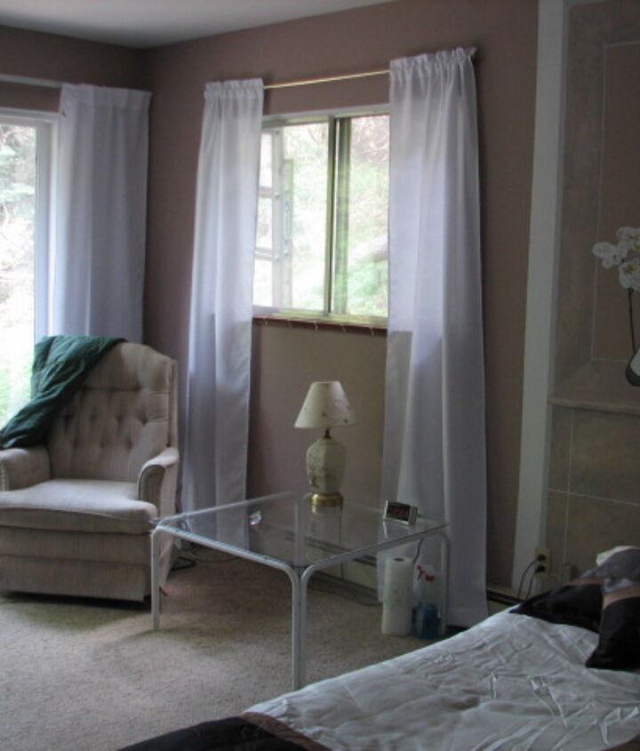 My favorite reading corner in the bedroom.