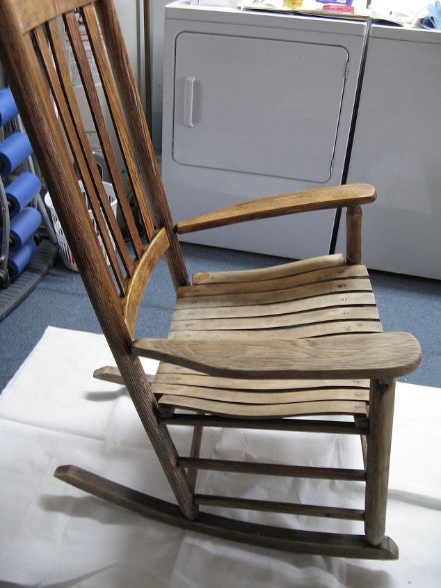 Rocker after 30 years of storage.