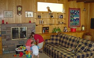 unbelievable family room update, home decor, living room ideas