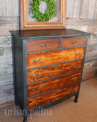 chest of drawer makeover, painted furniture