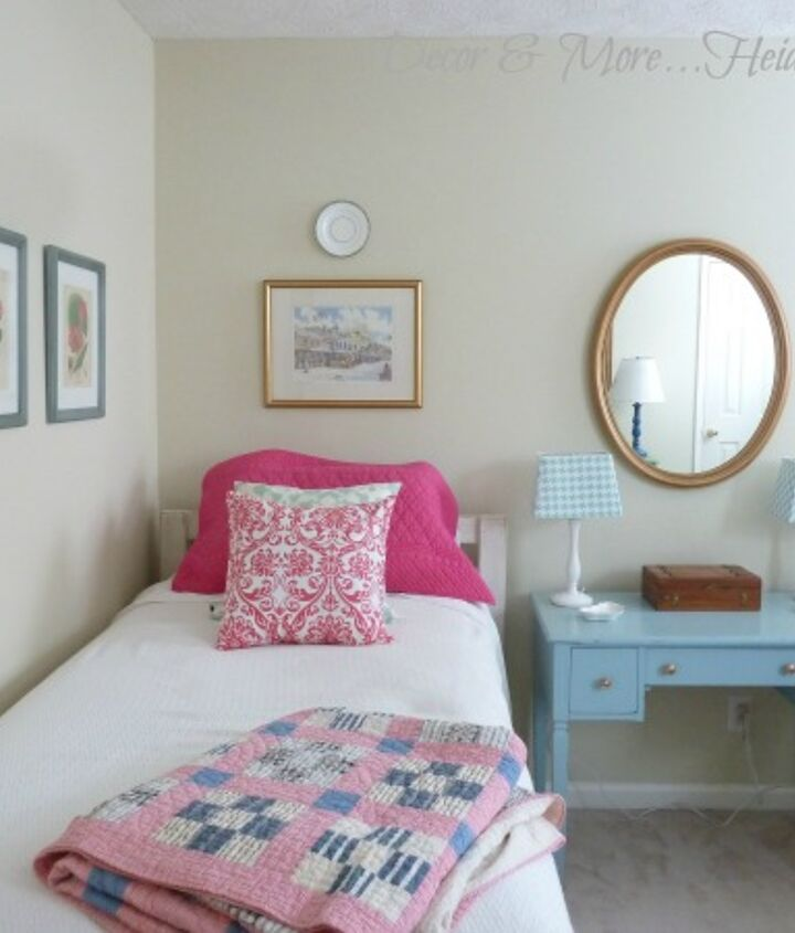 guest room reveal everything but the drapes, bedroom ideas, home decor