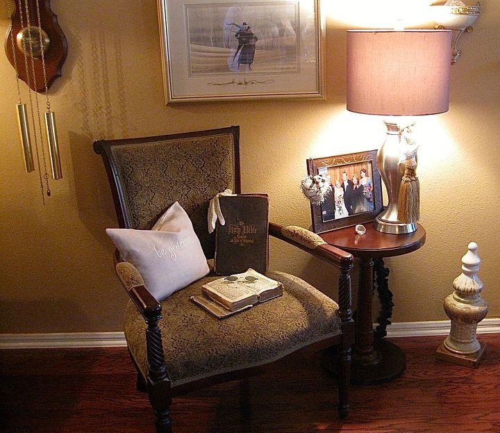 the making of a vignette, home decor, living room ideas