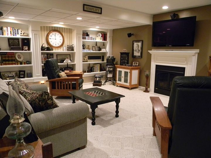 Current Basement media room/man cave