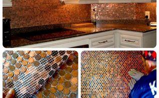 q is bondera appropriate for a penny tile backsplash, diy, kitchen backsplash, tiling, wall decor