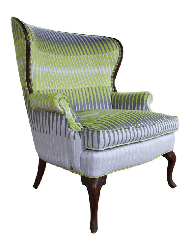 chairs by chaircycle, painted furniture, reupholster, McDonough Chair