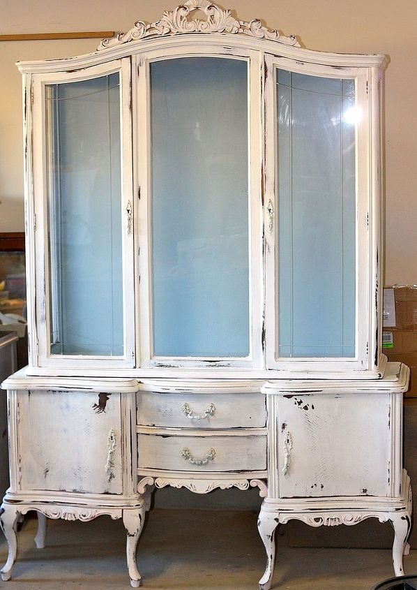 Full view of china cabinet.