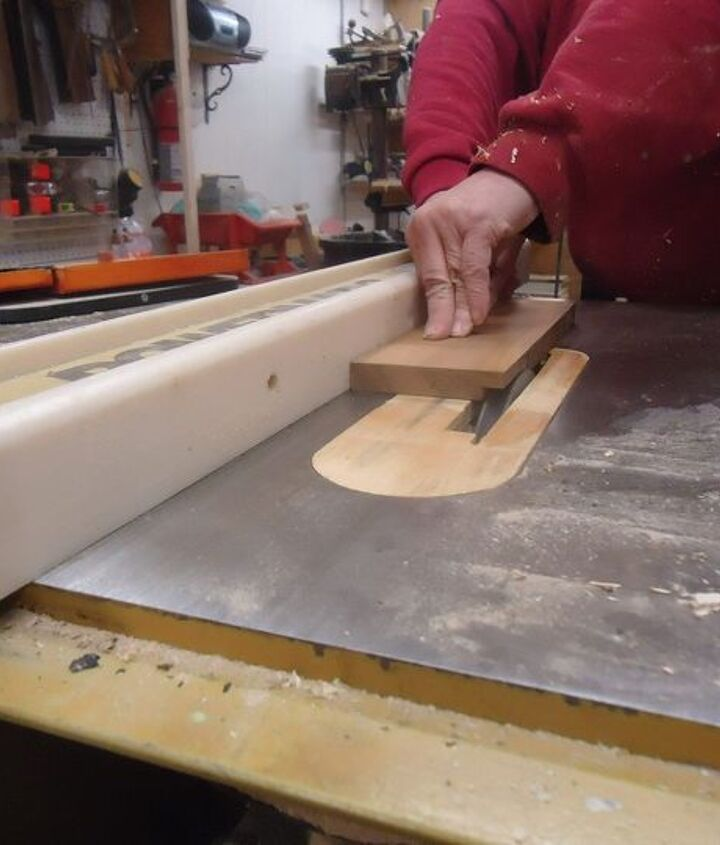making a rabbet cut in planed cedar