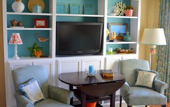 DIY Bookcases Using Kitchen Cabinets as the Base