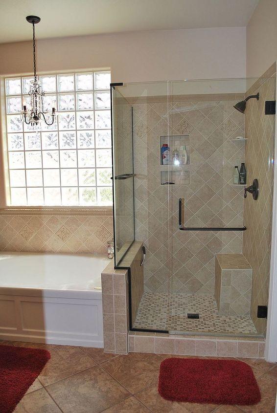 master bath remodel may 2010, bathroom ideas, home decor