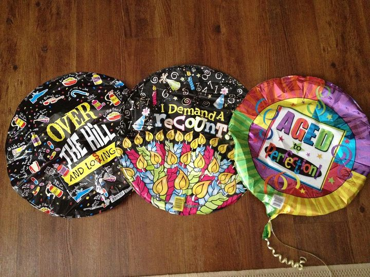 helium balloons, repurposing upcycling