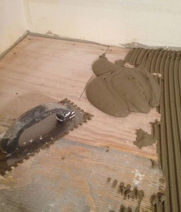 hardiebacker your tile floor isn t moving once it s installed, flooring, tile flooring, tiling