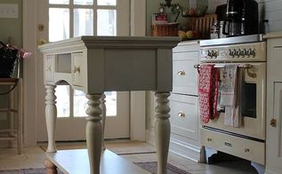 diy kitchen island, home decor, kitchen design, kitchen island, New taller feet