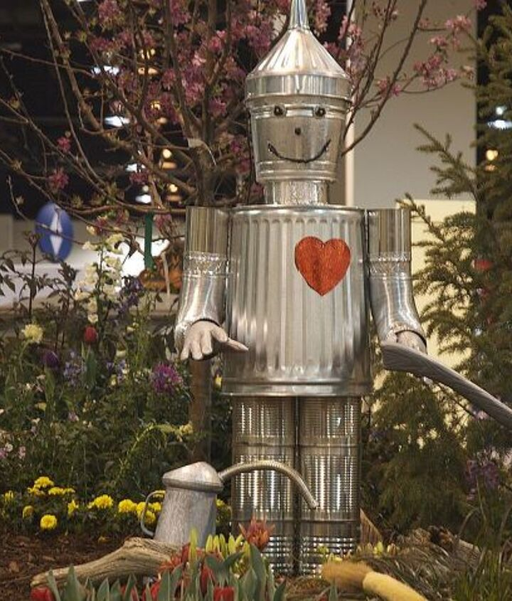 Not to worry, the Tin Man has a heart!