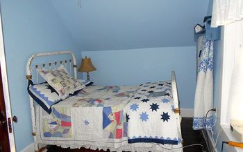 small room makeover on a small budget, bedroom ideas, home decor, You can see from the picture how narrow the room is
