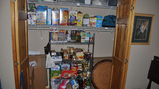 q mission organization will you join me in getting organized in 2013, organizing, storage ideas, New wire shelf in panty closet