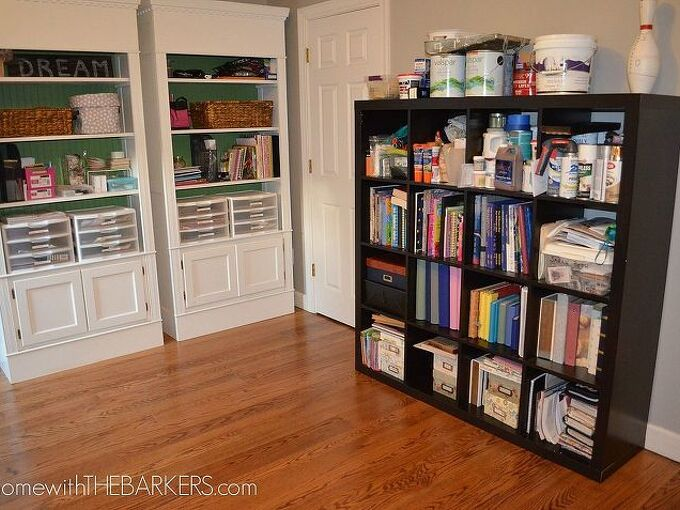 getting a craft room organized, craft rooms, organizing, Now I am able to see everything right away