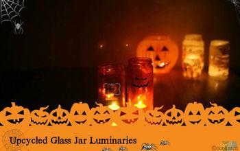 Make Reusable Luminaries With Glass Jars