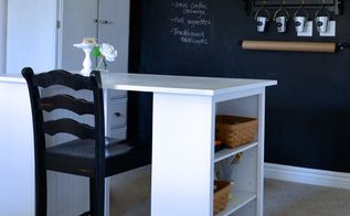 how to make a craft table, craft rooms, diy, how to, painted furniture, My craft table is the perfect size and has a great amount of storage area