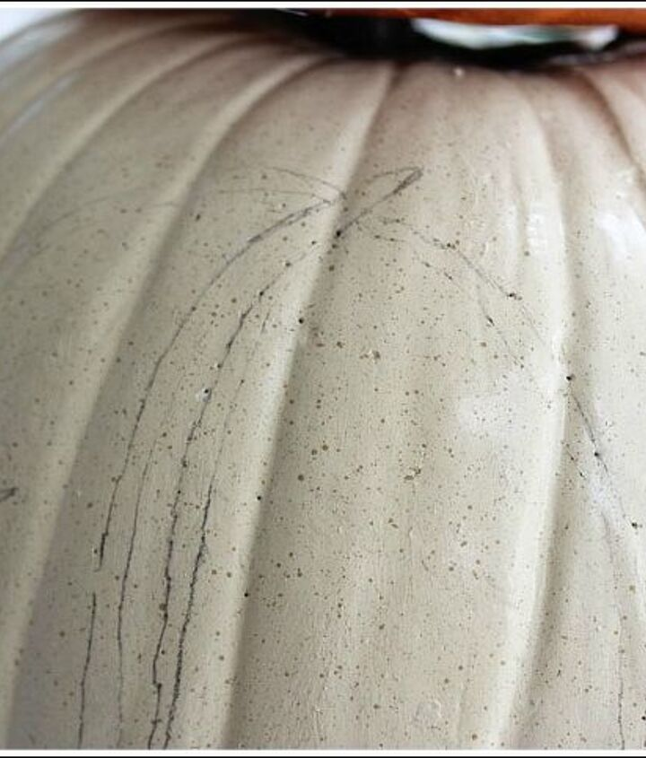 pumpkin topiary fall decorating ideas, container gardening, crafts, gardening, seasonal holiday decor, Play dot to dot with a pencil and trace the outline of your letter Paint with acrylic paint and finish with a spray sealer