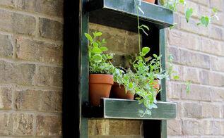 hanging garden planter, diy, gardening, how to, outdoor living, woodworking projects