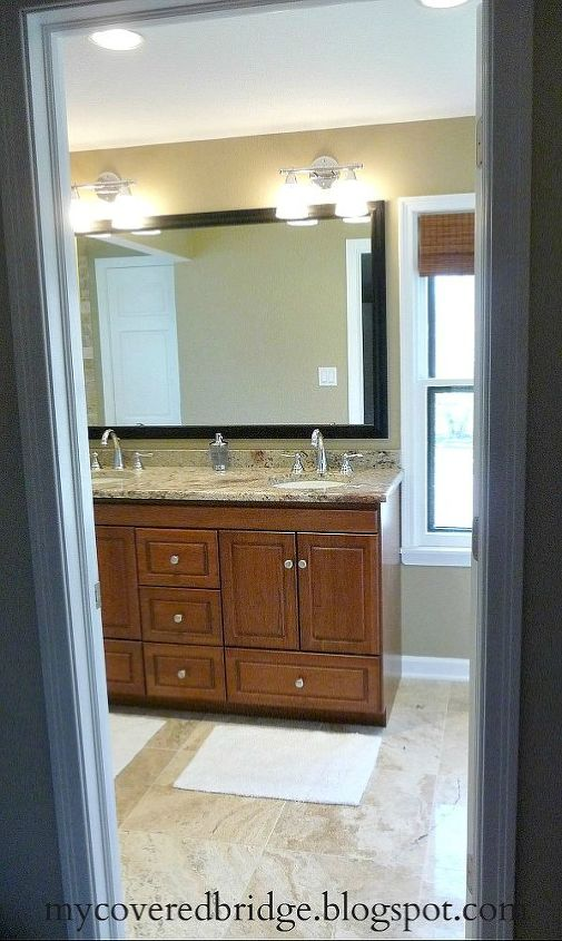 my new master bath check out the before after, bathroom ideas, home decor, Master bath after