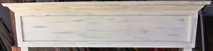 2 low profile faux distressed headboard, painted furniture, woodworking projects