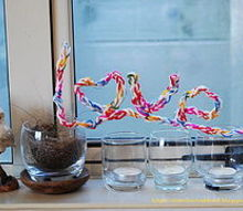 wired and woolly lettering diy, crafts