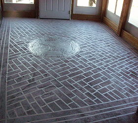 Charming Painted Concrete Floors That Last And Last And Last, Diy, Flooring, Painting ,