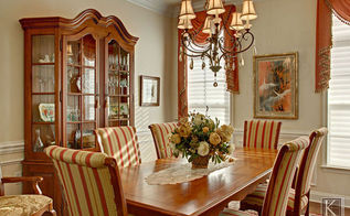 french dining room, dining room ideas, home decor, A simple and elegant flower arrangement contributes to a dressy but played down livable look The walls are painted in soft cream vanilla ice cream color