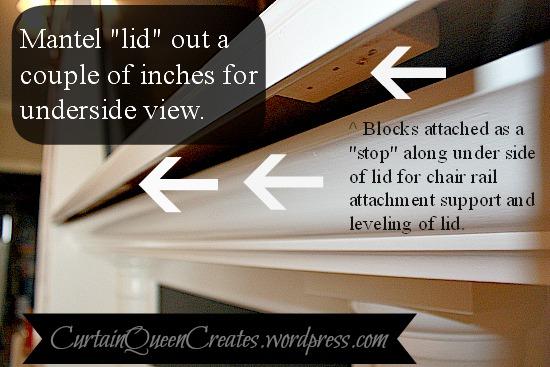 Flat Screen TV Wiring Visible? Mantel Reno Solution! | Hometalk