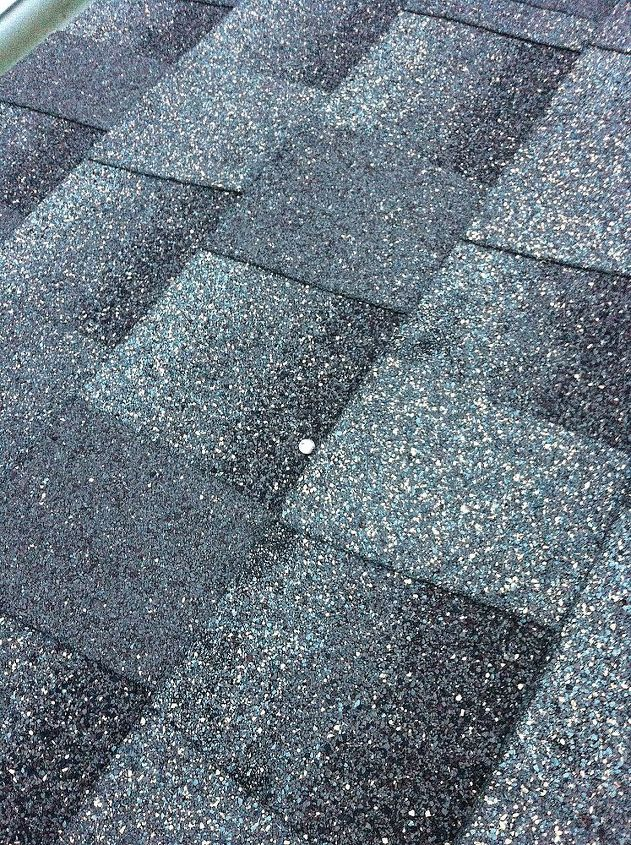 q should i worry about exposed nail heads on roof, curb appeal, home maintenance repairs, roofing