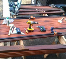 Good Picnic Table, Diy, How To, Painted Furniture, Woodworking Projects, After  The