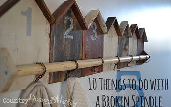 10 Things to Do With a Broken Spindle...and More!