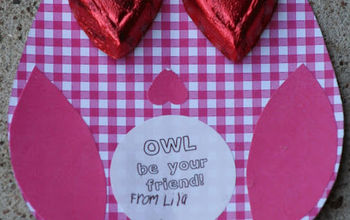 Owl Be Your Valentine Homemade Valentines