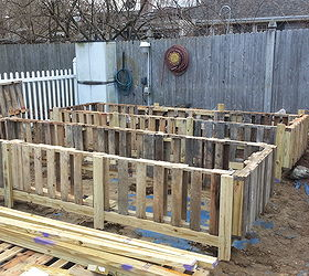Raised Bed Gardens From Pallets, Gardening, Pallet, Raised Garden Beds