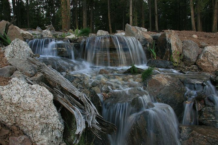 Nothing like the sound of water cascading over some rock.