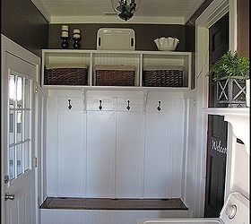 Adding A Mudroom To Our Garage, Garages, Home Improvement, Laundry Rooms,  Custom. Custom Shelving And Shoe Storage ...