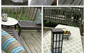 Easy Outdoor Stencil Projects